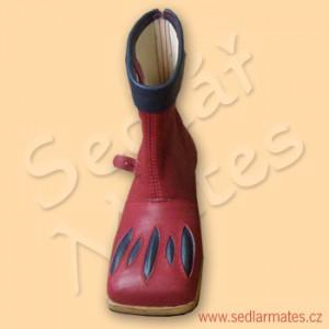 Renesanční polovysoké boty (model č. 2020)