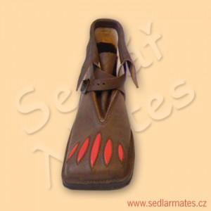 Renesanční kotníkové boty (model č. 2024)