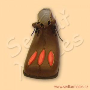 Renesanční kotníkové boty (model č. 2032)