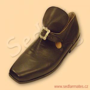 Barokní boty nízké (model č. 3006)