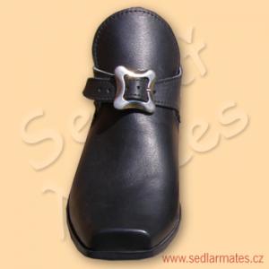 Nízké barokní pánské boty (model č. 3017)