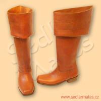 Jezdecké barokní boty (model č. 3022)