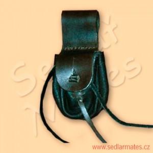 Kožený měšec (model č. 5015)