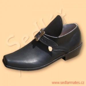 Nízké barokní boty (model č. 3008)