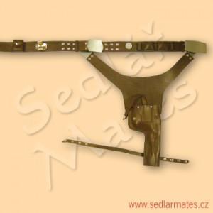 """Kožený holster """"Star Wars"""" (model č. 6005)"""