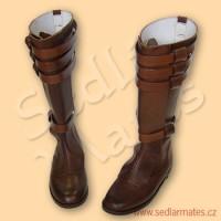 """Kožené boty """"Star Wars"""" (model č. 6007)"""