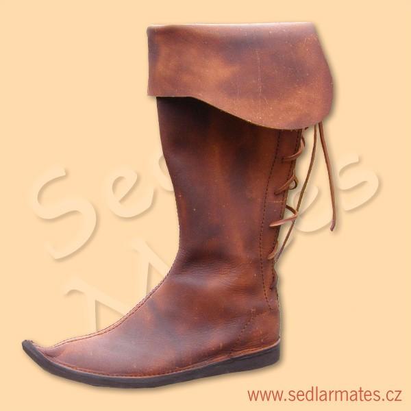 1021)  Gotické vysoké boty (model č. 1021) 0017857fd4