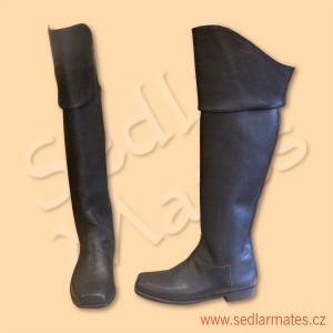 Napoleonské boty (model č. 3041)