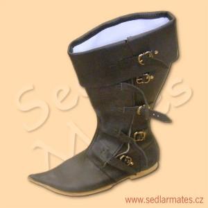 Gotické vysoké boty (model č. 1100)