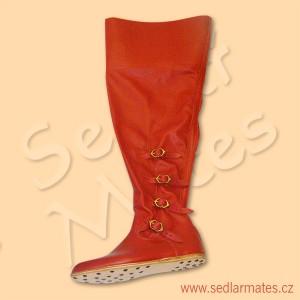 Gotické vysoké boty (model č. 1108)