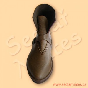 Gotické kotníkové boty (model č. 1080)