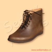 Gotické kotníkové boty (model č. 1081)