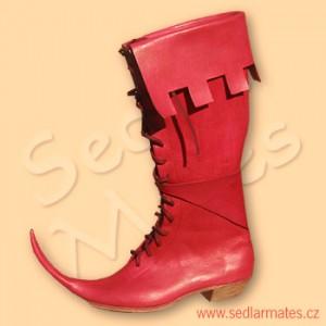 Pseudogotické vysoké boty (model č. 1085)