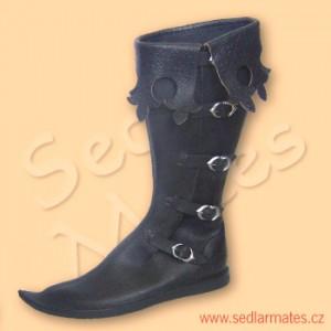 Gotické vysoké boty (model č. 1086)