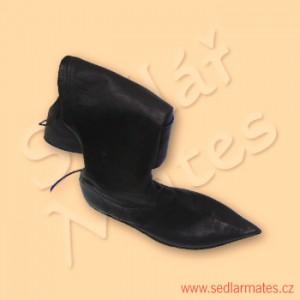 Gotické jezdecké boty (model č. 1087)