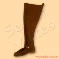 Pseudogotické vysoké boty (model č. 1091)