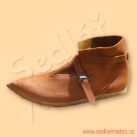 Gotické kotníkové boty (model č. 1092)