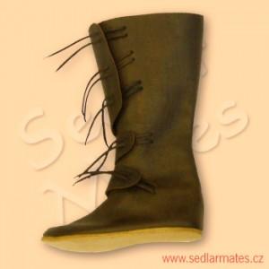 Raně gotické polovysoké boty (model č. 1094)