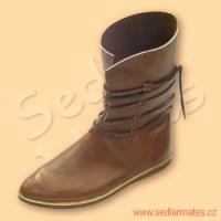 Raně gotické polovysoké boty (model č. 1095)
