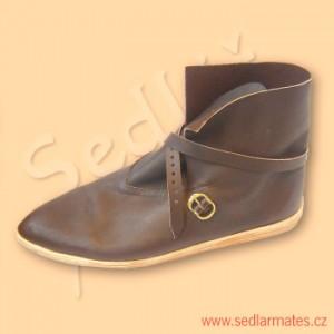 Gotické kotníkové boty (model č. 9034)