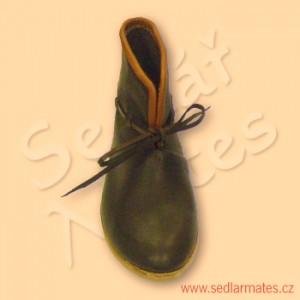 Gotické kotníkové boty (model č. 9035)