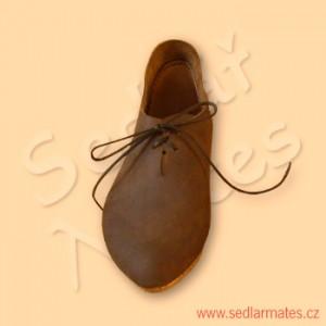 Gotické nízké boty (model č. 9037)