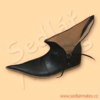 """Gotické kotníkové boty """"tulipány"""" (model č. 9044)"""