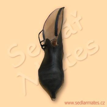 """Gotické kotníkové boty """"tulipány"""" (model č. 9044) 1966f4812f"""
