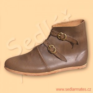 Gotické kotníkové boty (model č. 9045)