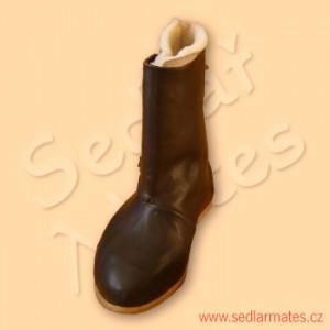Raně gotické boty s beránkem (model č. 9049)