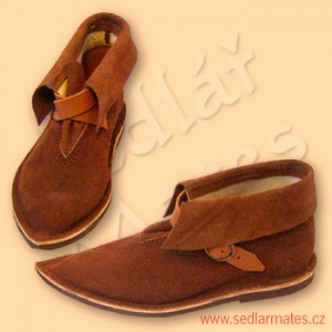 Dětské gotické kotníkové boty (model č. 1057)