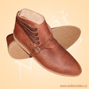 Gotické kotníkové boty (model č. 1040)